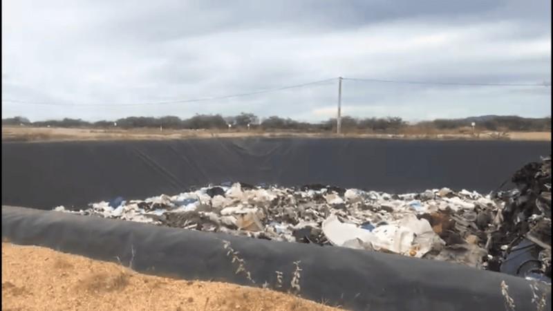 Disposição de resíduos sólidos