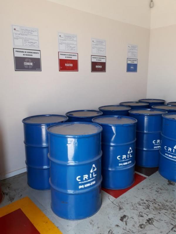 Gerenciamento de residuos solidos e liquidos