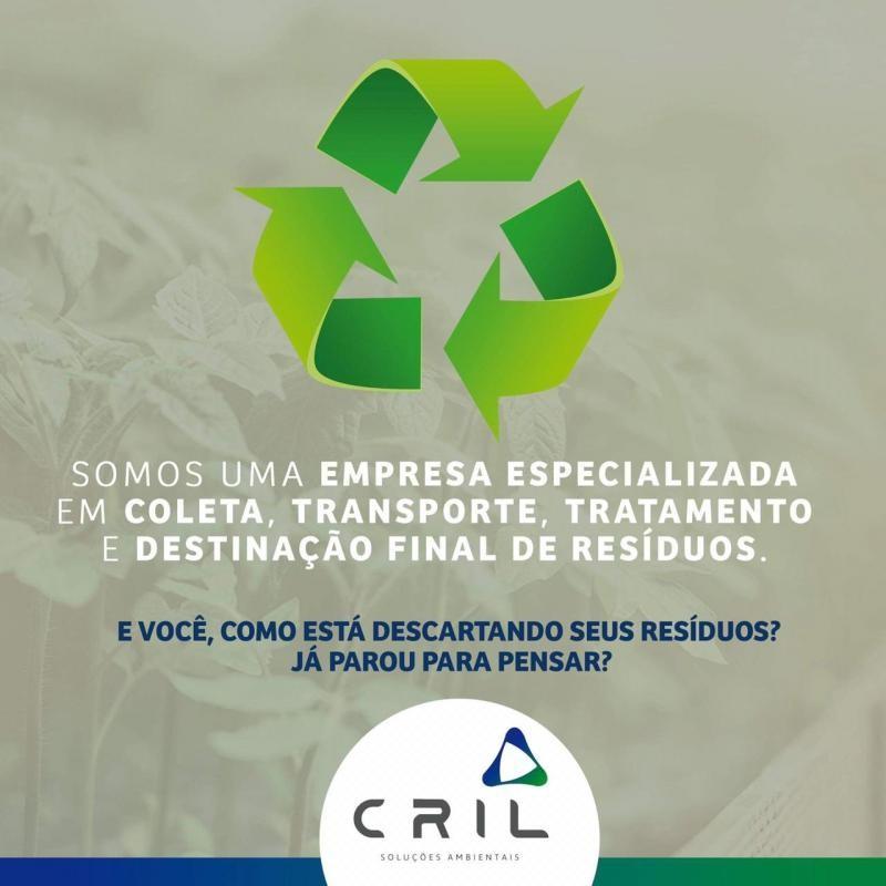 Gerenciamento e tratamento de resíduos sólidos