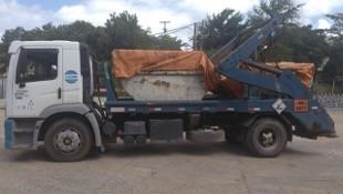 Transporte de resíduo classe 1