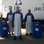 Empresa de coleta de lixo hospitalar