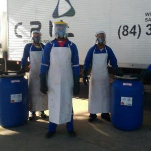 Empresa de coleta de lixo infectante