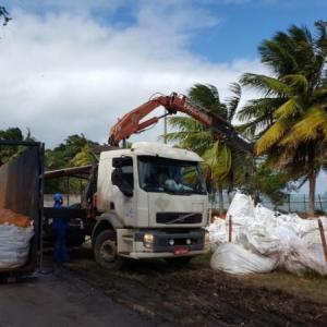 Transporte e destinação de residuos